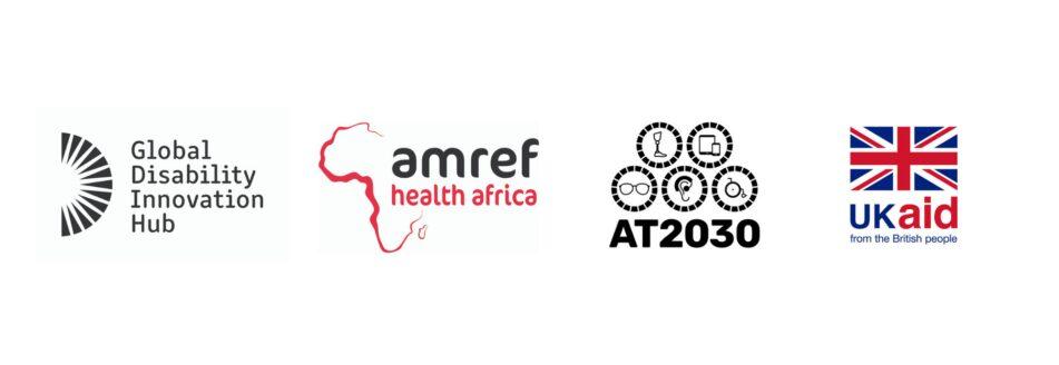 GDI HUB, Armef Health Africa, AT2030 and UKAID logo