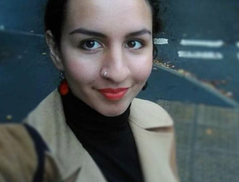 Nadia Lesniarek-Hamid is studying a Masters in Architecture at the Royal College of Art