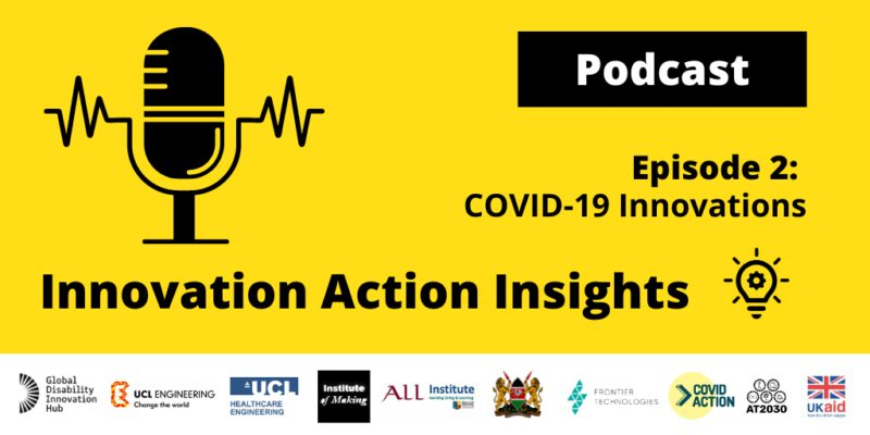 New podcast: COVID-19 Innovations