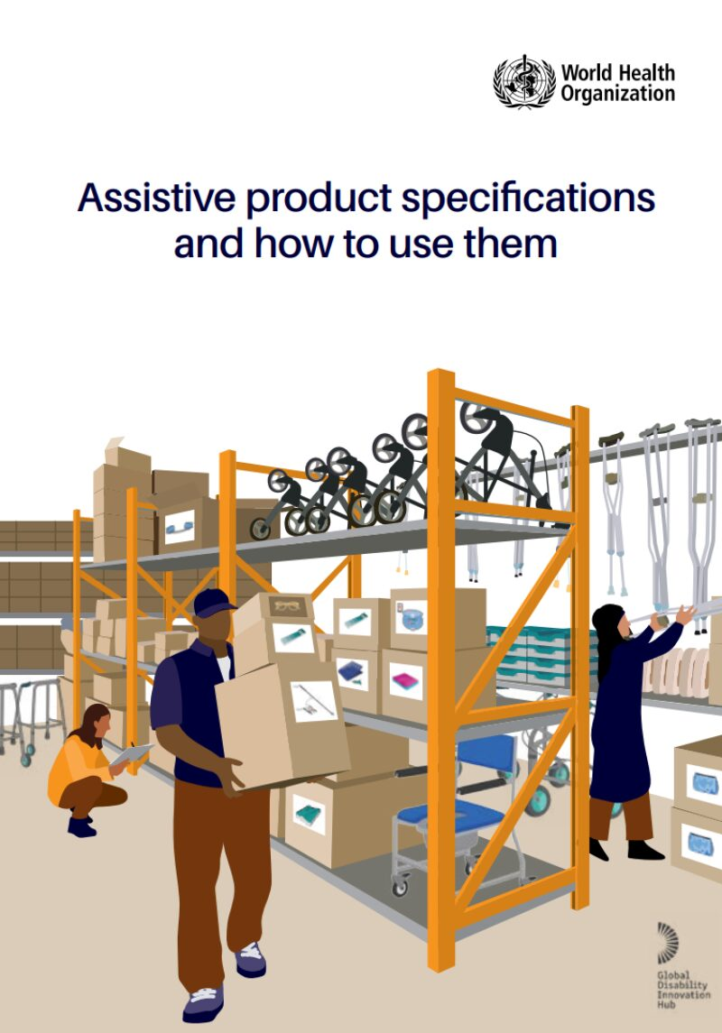 Assistive Product Specifications