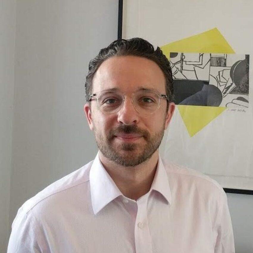 Colour image of Joel Burman