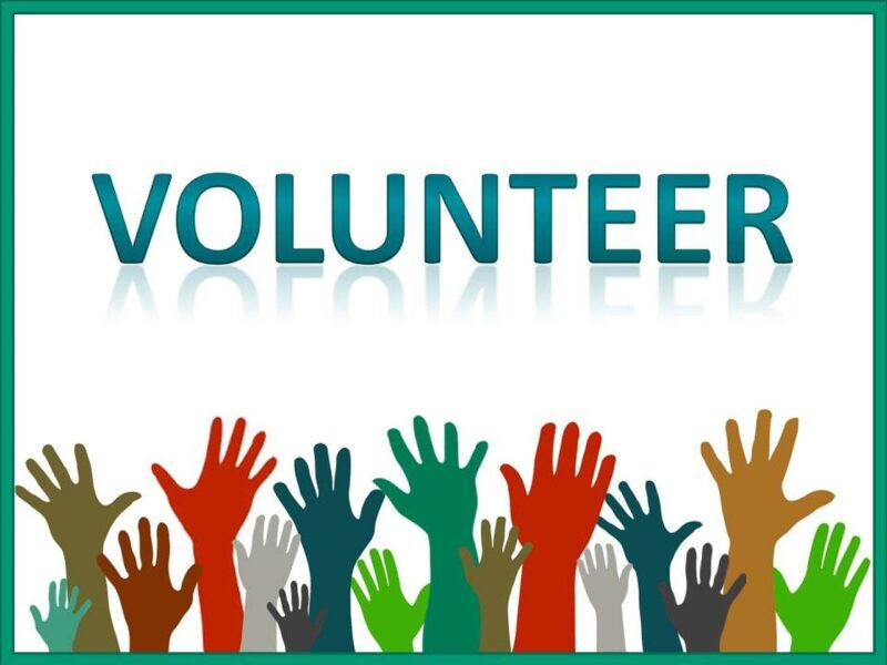 Image of promoting volunteering