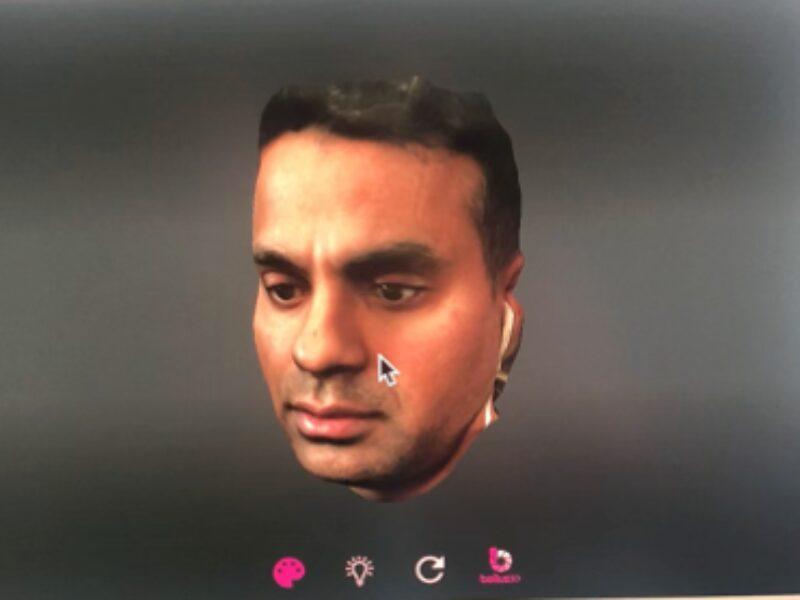 3D face image