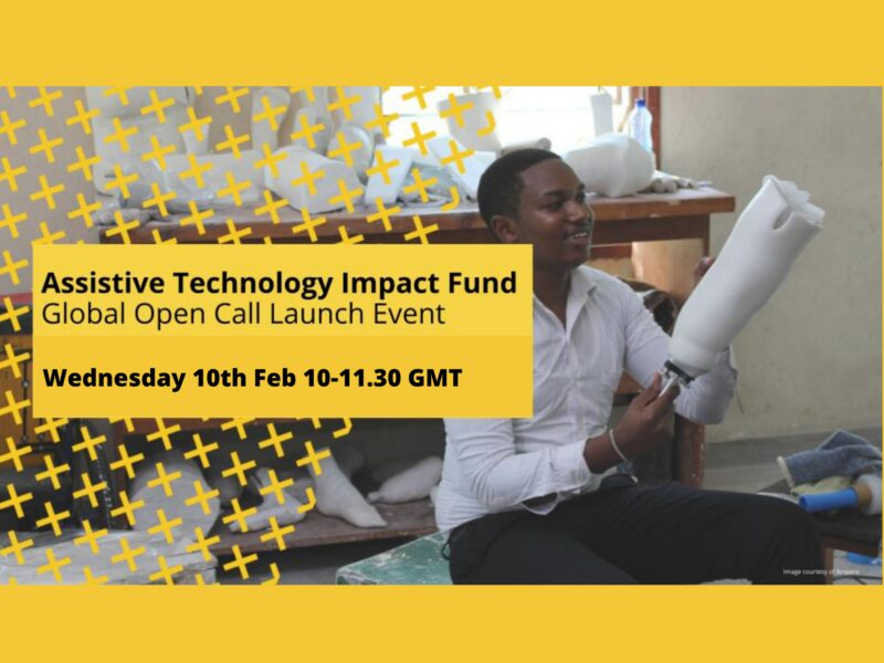 Assistive Technology Impact Fund: Join the launch ofthis Global Funding Call