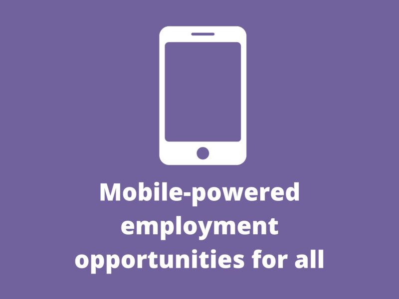 Mobile-powered employment opportunities for all; up to £20k available for Bangladesh solutions