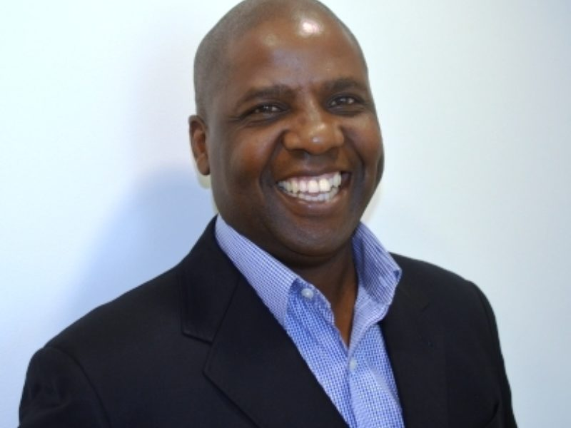 Portrait photograph of Edwin Phiri