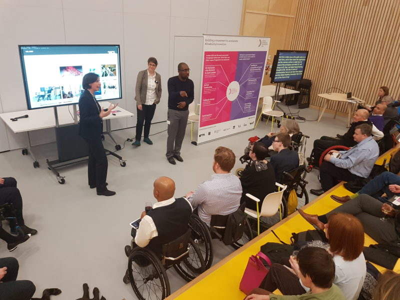 Presentation of the MSc at the GDI Hub Town Hall