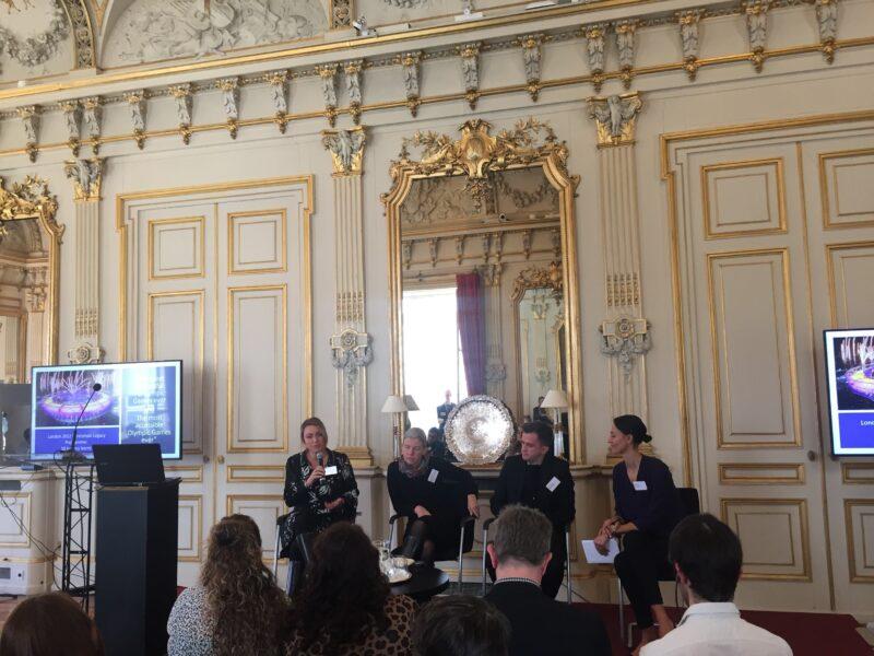 Our Director Vicki Austin speaking in Paris