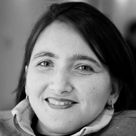 Black and white profile Image of Ola Abu Alghaib